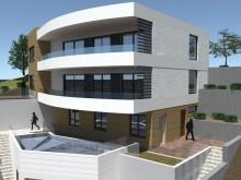Apartmánový dom vo výstavbe na Čiove