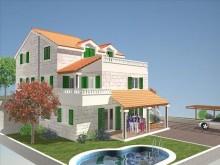 Vila na ostrove Brač